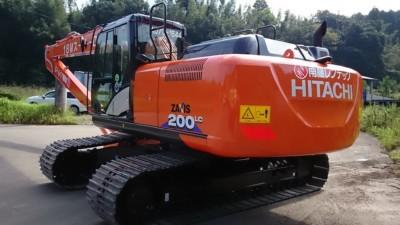 【商品入荷情報】油圧ショベルZX200LC-6(18Mスーパーロング)を入荷しました。