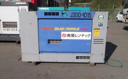 ディーゼルエンジン溶接機 300A